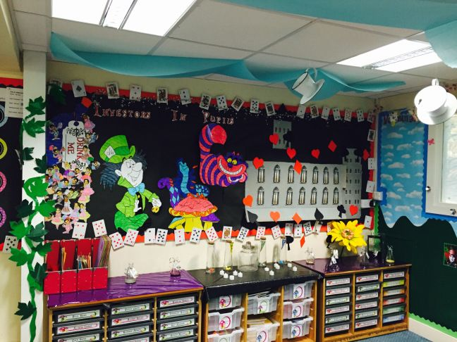 Alice In Wonderland Classroom Decoration Ideas ~ Alice in wonderland classroom roleplay google search