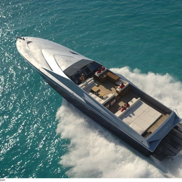 80 Magnum Marine Bateaux De Vitesse Bateau Yacht De Luxe
