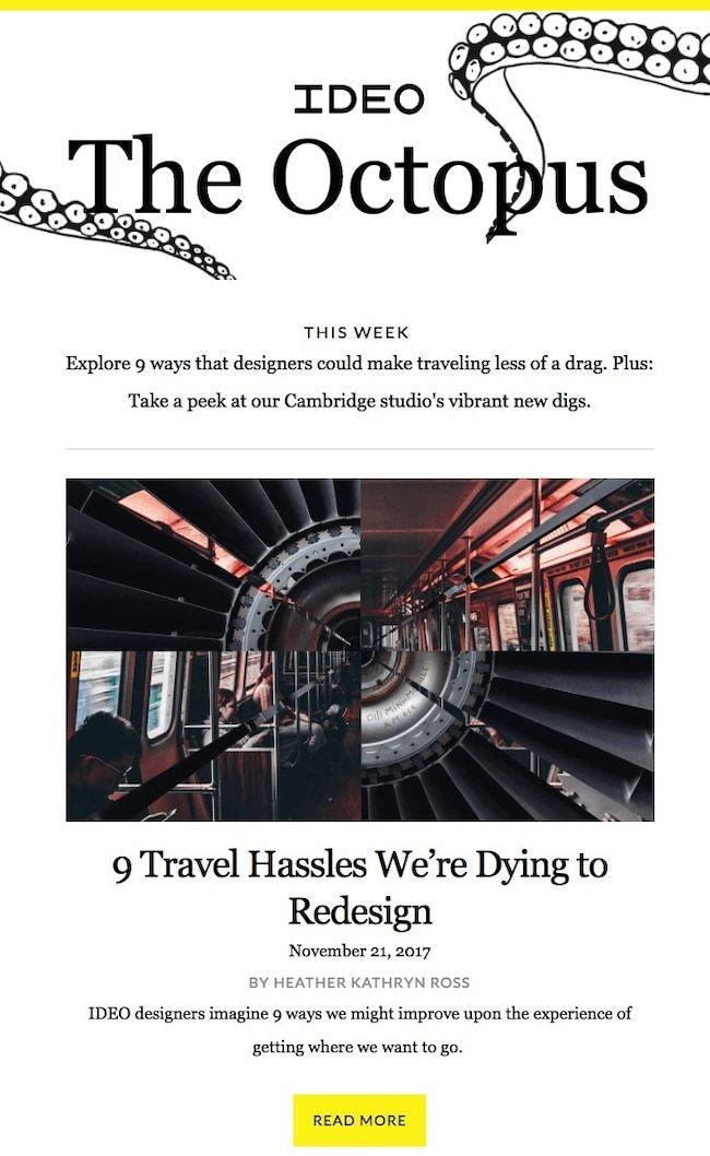 Adobe Spark Newsletter Examples