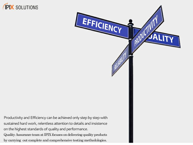 Productivity and Efficiency can be achieved only step by with sustained hard work, relentless attention to details and insistence on the highest standards of quality and performance.