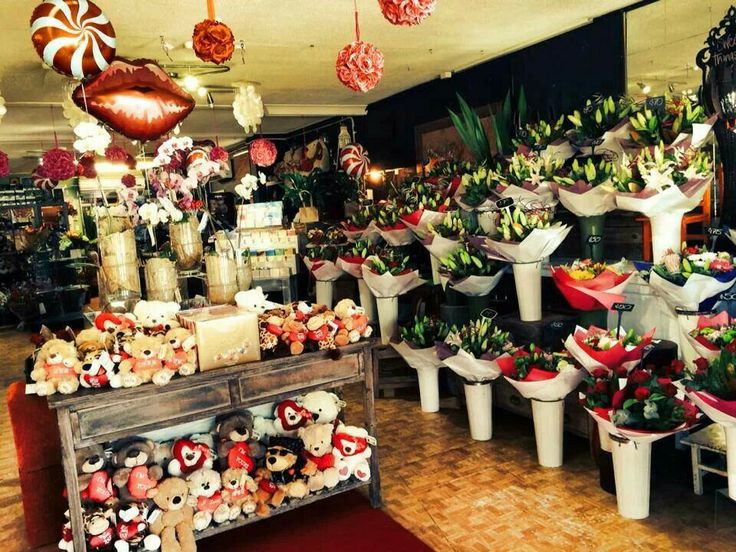 Our little shop on Valentines Day, 2014. Redcliffe City Florist.