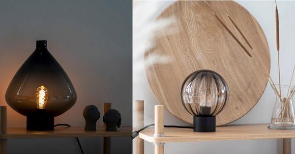 Vinn en valgfri bordlampe Hadelland Glassverk