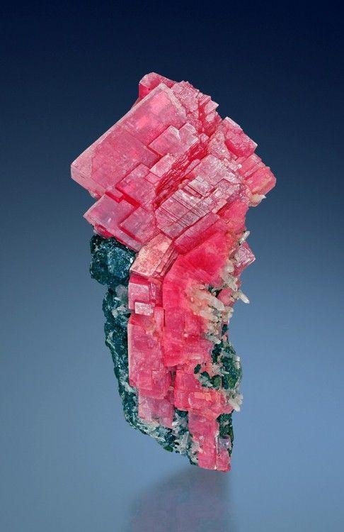 Rhodochrosite, Tetrahedrite, Quartz