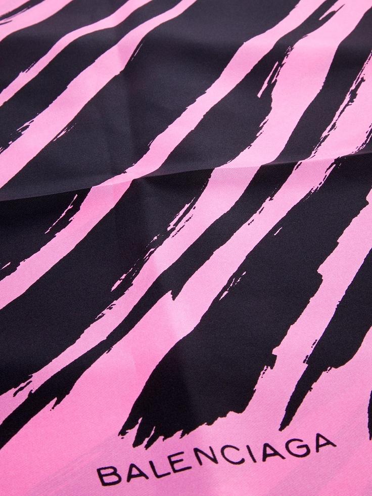 Inspiration: Balenciaga Printed silk Scarf, 1960s