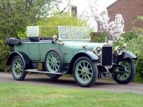 1920 SUNBEAM 16 HP TOURER Maintenance/restoration of old/vintage vehicles: the…