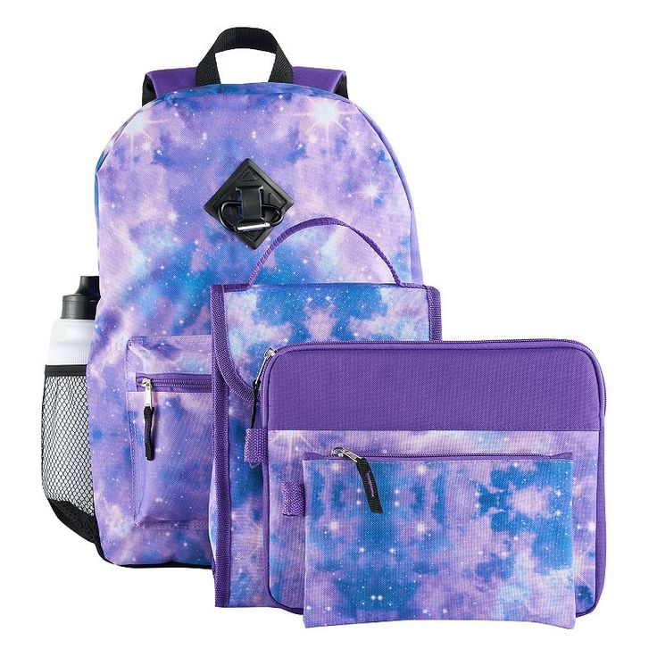 Kids 6-pc. Galaxy Backpack & Accessories Set, Multicolor