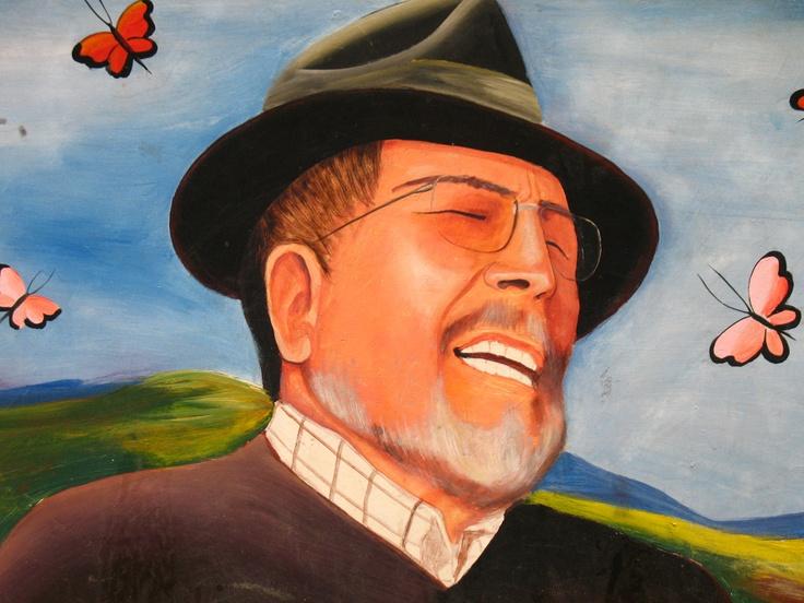 Jorge Velosa, protagonista en su tierra, Ráquira.