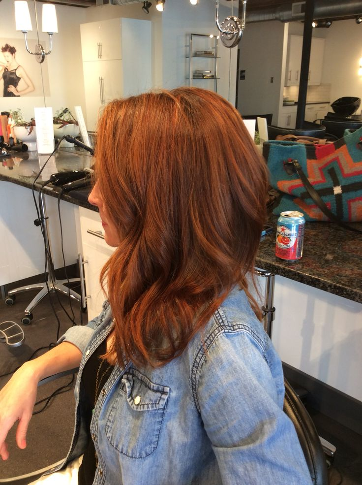 Beautiful rich deep copper red with slight dimension