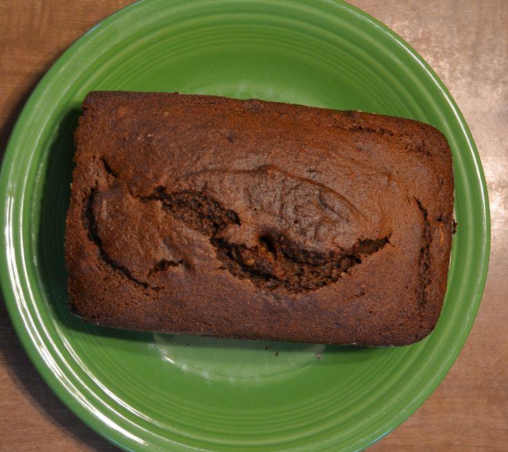 Pumpkin Maple Molasses Walnut Bread