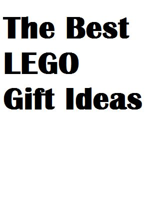 The best Lego gift ideas! They're unusual in that they are not Lego sets. I love every single one of them! #legos #giftideas
