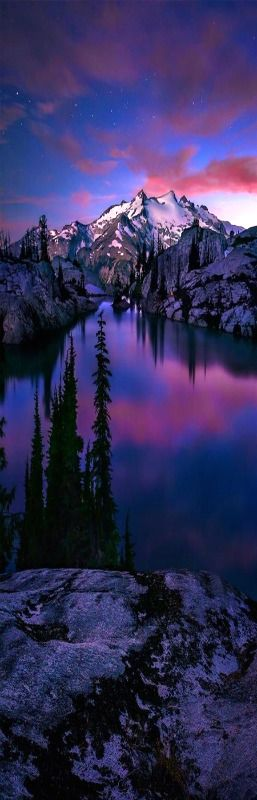 Valley Of The Blue Moon, North Cascades National Park, Washington State    USA