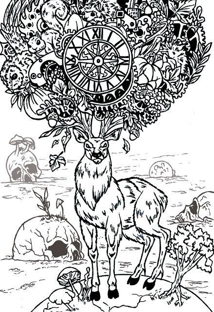 Creativity of Fià: Cervo e crani