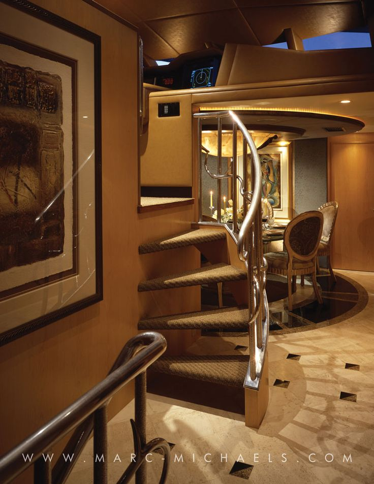 Luxury Yacht Interior Design | Classic Elements Chart The Design Of The High-Sty…