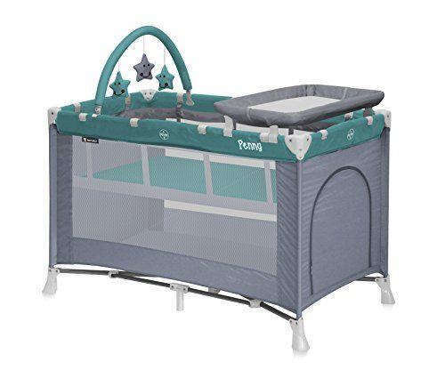 lit parapluie bb lit pliant 2 niveaux avec matelas et table langer - Lit Table A Langer
