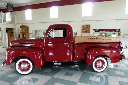 1949 Ford F1 - Image 1 of 20 This is my dream truck and would be parked in front of my dream house! Imagine how pretty it would look in the snow, bringing home the Christmas tree!