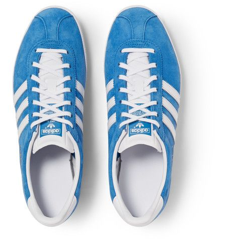 ADIDAS ORIGINALS Gazelle OG Suede And Leather Sneaker