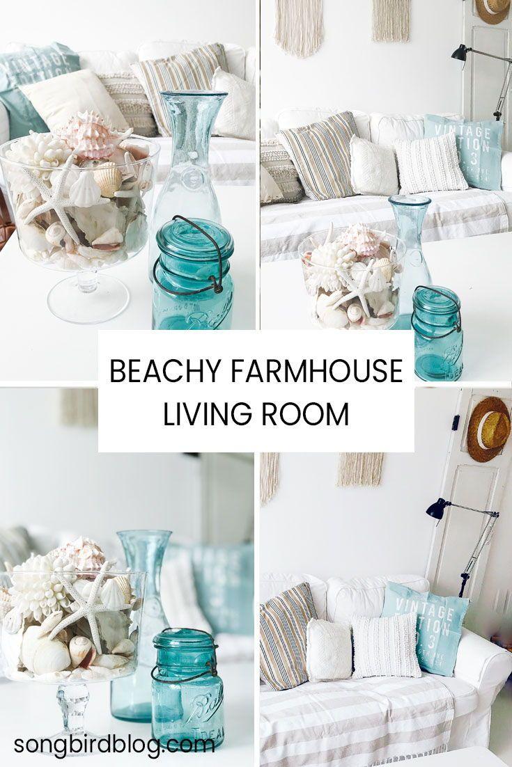 Beachy Farmhouse Decor Ideas Songbird Farmhouse Decor Living Room Farm House Living Room Coastal Bedroom Decorating