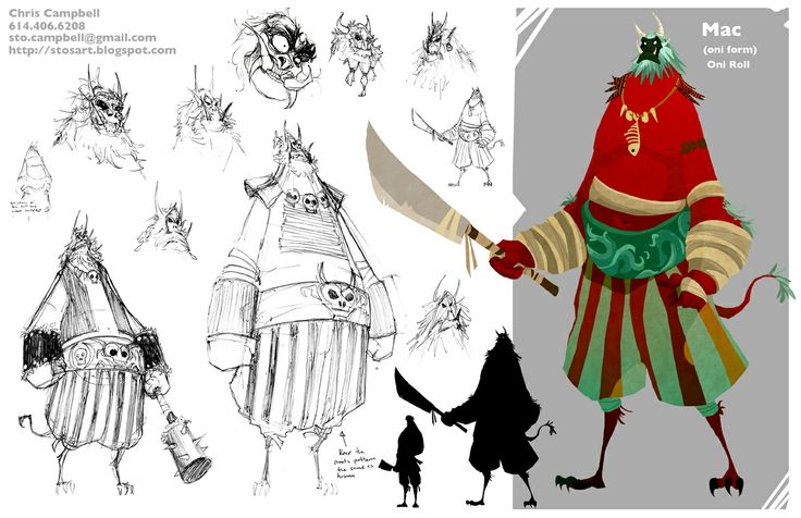 Character Design Masters : Best inspiration masters project concept art for
