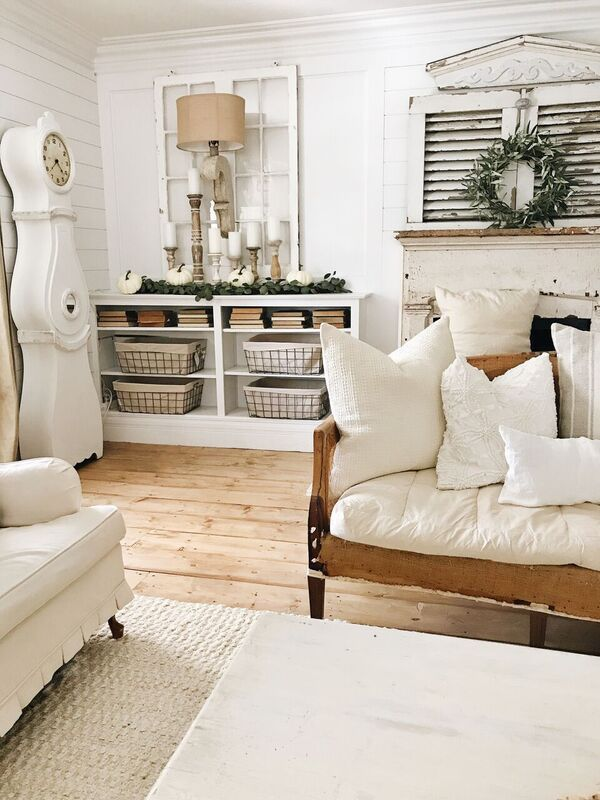 5 Easy Steps To Create The Perfect Balance Of Wood And White Decor Farm House Living Room Farmhouse Living Room Furniture Living Room Update #white #farmhouse #living #room #furniture