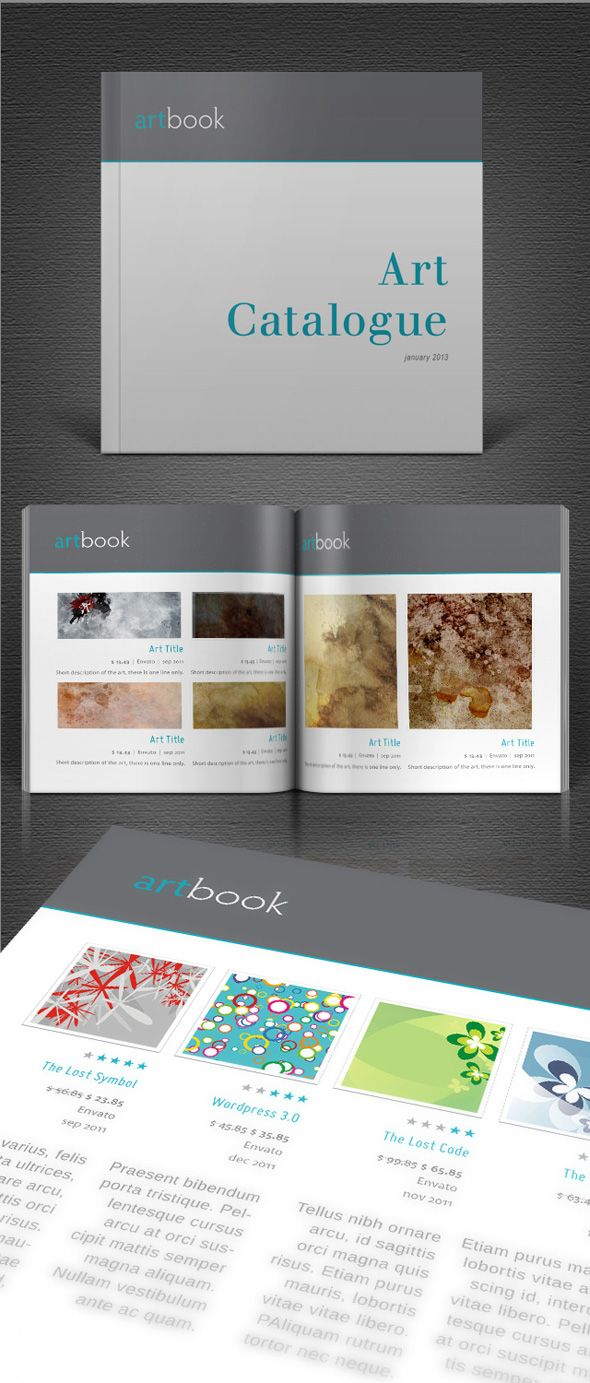 34 best catalogue design images on pinterest for Catalogue templates indesign