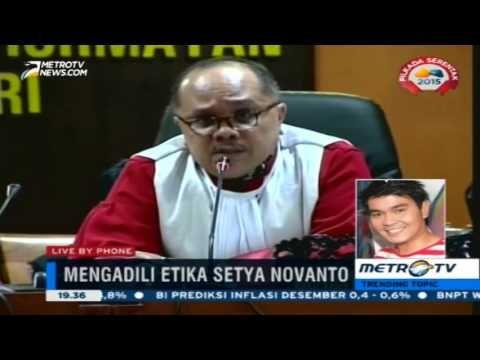 Indra Bekti Geram Tanda Tangani Petisi Sidang MDK