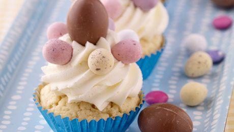 Easter Cupcakes #Cupcakes #Baking