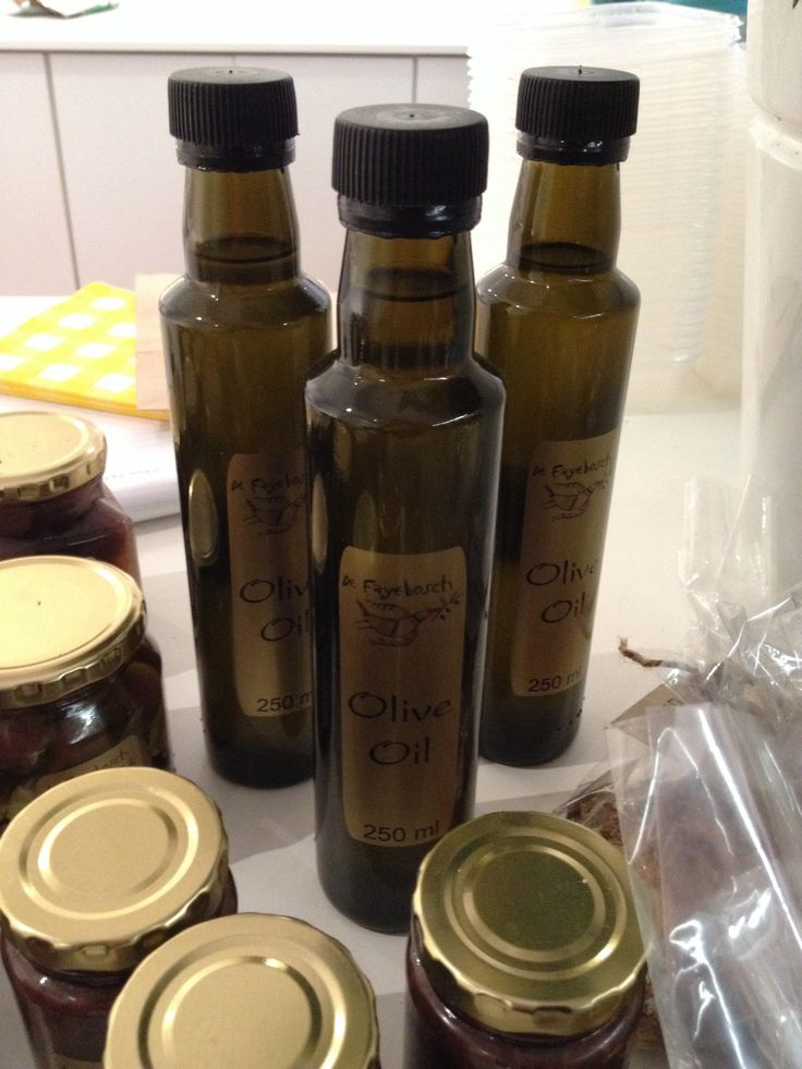 Our olive oil made on the farm