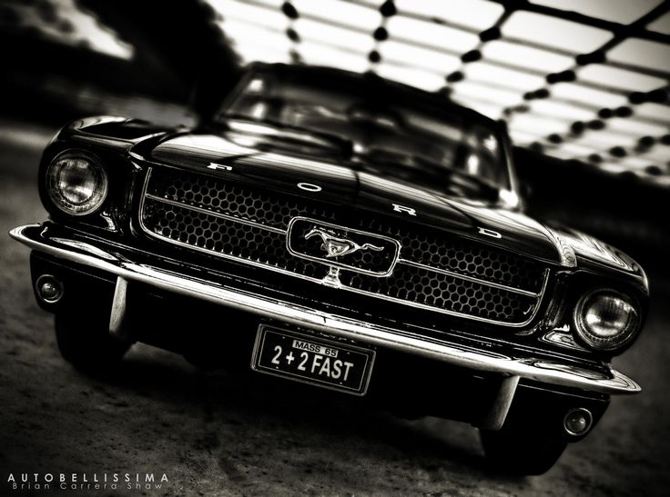 1965 Ford Mustang.  http://500px.com/photo/43432212