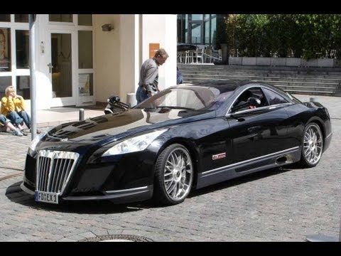 Maybach Exelero - The 8 million dollar car !!