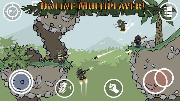 Mini Militia Mod Apk God Mod Pro Pack Unlimited Ammo Nitro No