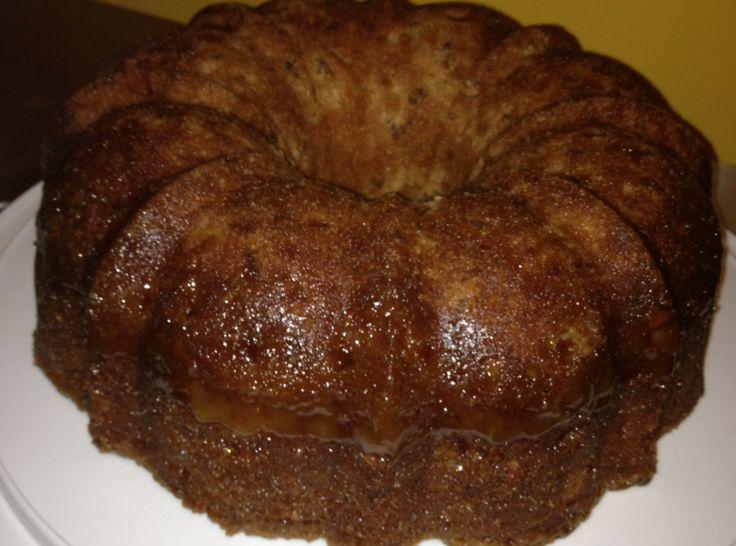 Apple Dapple Cake (with caramel sauce) | Recipe | Caramel, Caramel ...