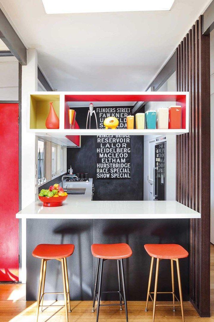 Seven stunning non-white kitchens   Home Beautiful Magazine Australia