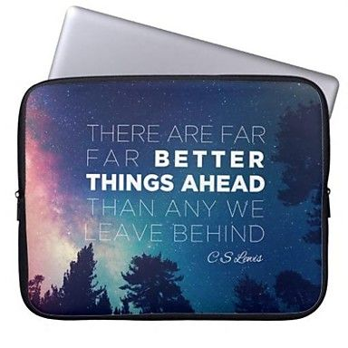 Elonbo Better Things Ahead Tablet Neoprene Protective Sleeve Case for 11'' Macbook Air Dell Acer HP – EUR € 13.42