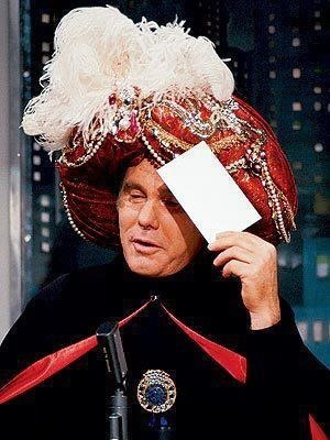 """The Answer: Miss Jacksonville.  The Question: What to do when driving through the South. Ha ha. Ha,   """"Carnac"""" was too funny!!!!!"""