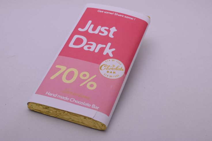 Dark Chocolate Bar 100g net