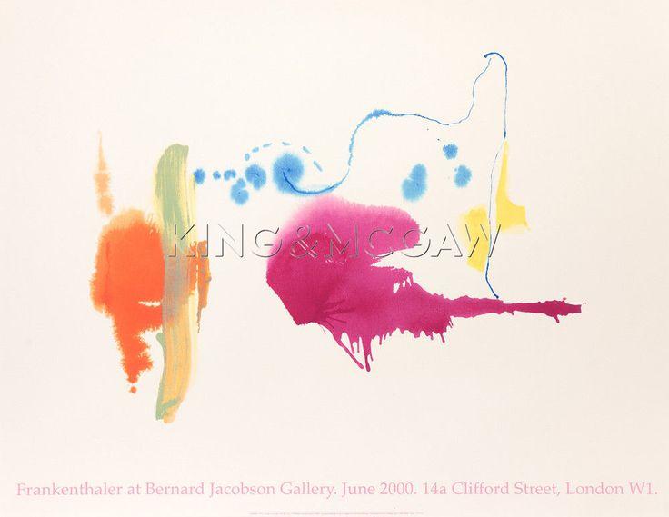 Untitled, 1995 Silkscreen by Helen Frankenthaler at King & McGaw