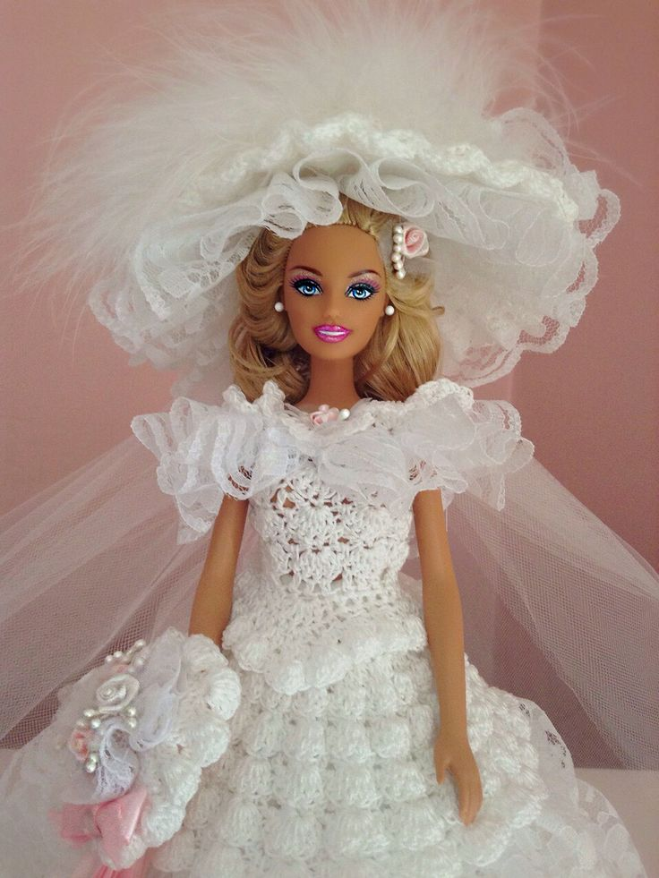 17 best images about barbie wedding dress on pinterest for How to make a barbie wedding dress