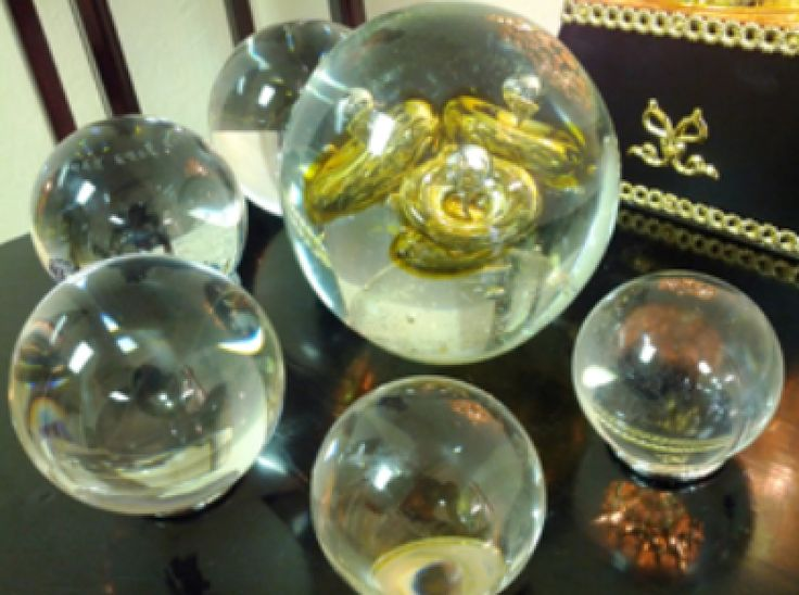 Crystal Spheres Ensures Harmony In Your Home And Workplace Place Six Of Them Various