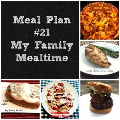 Meal Plan for Busy Families #mealplan