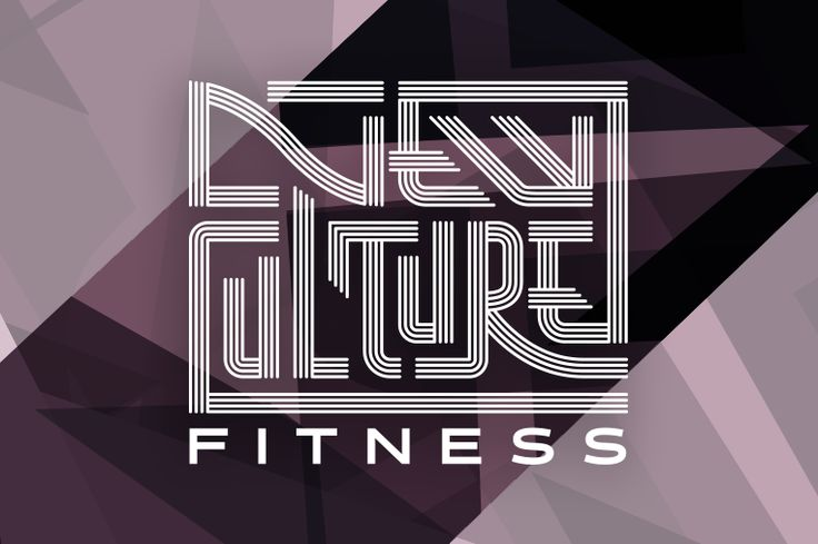 A strong identity for a new fitness brand