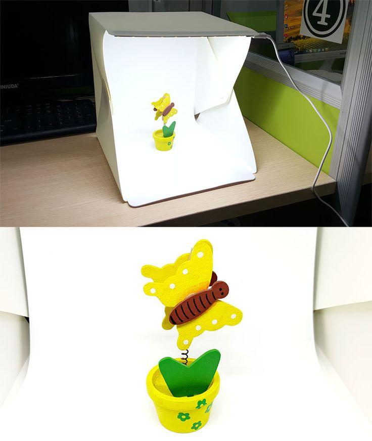 Складной Studio Softboxes Led Съемки Мини-Фотостудия Фотография Лампы Небольшая Коробка для Canon Nikon Sony Pentax DSLR -