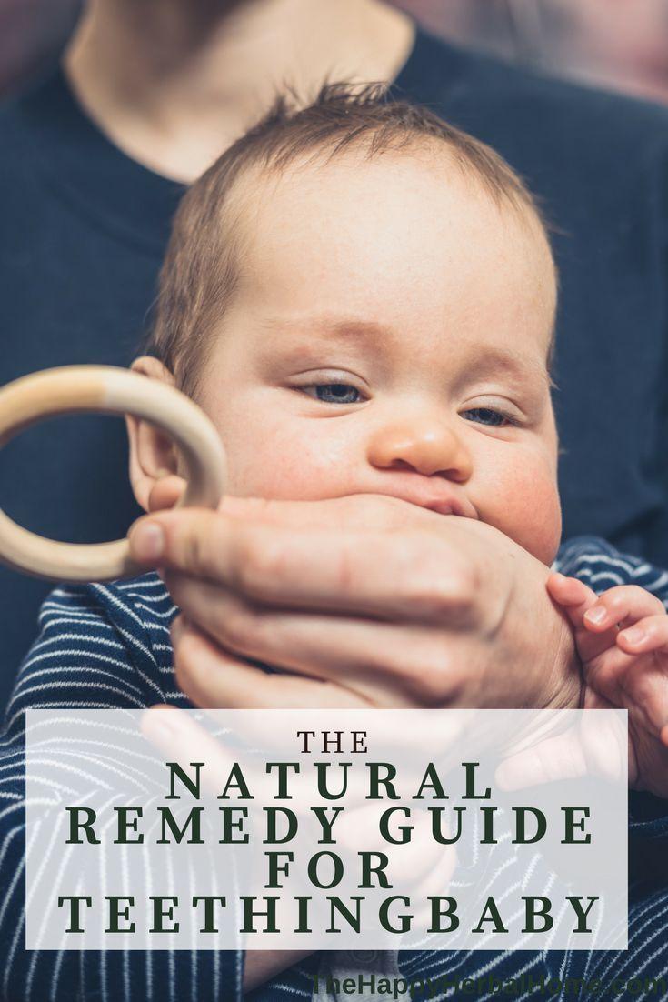Natural Teething guide   Help teething baby   Natural remedies for teething   Natural baby care