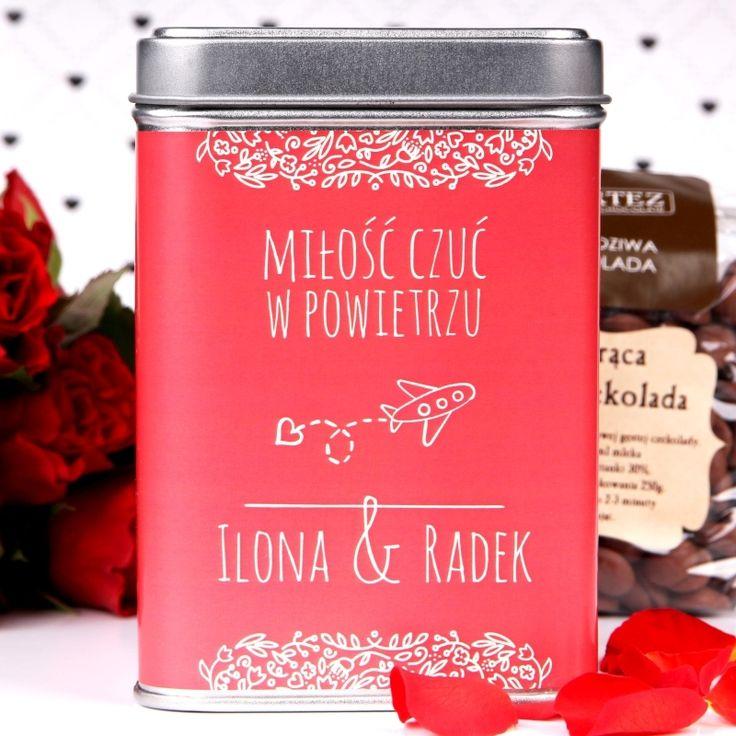 Personalizowana czekolada do picia W POWIETRZU
