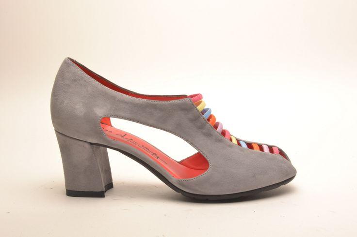 #pasderouge #shoes #summer #suede #sandal #elastics