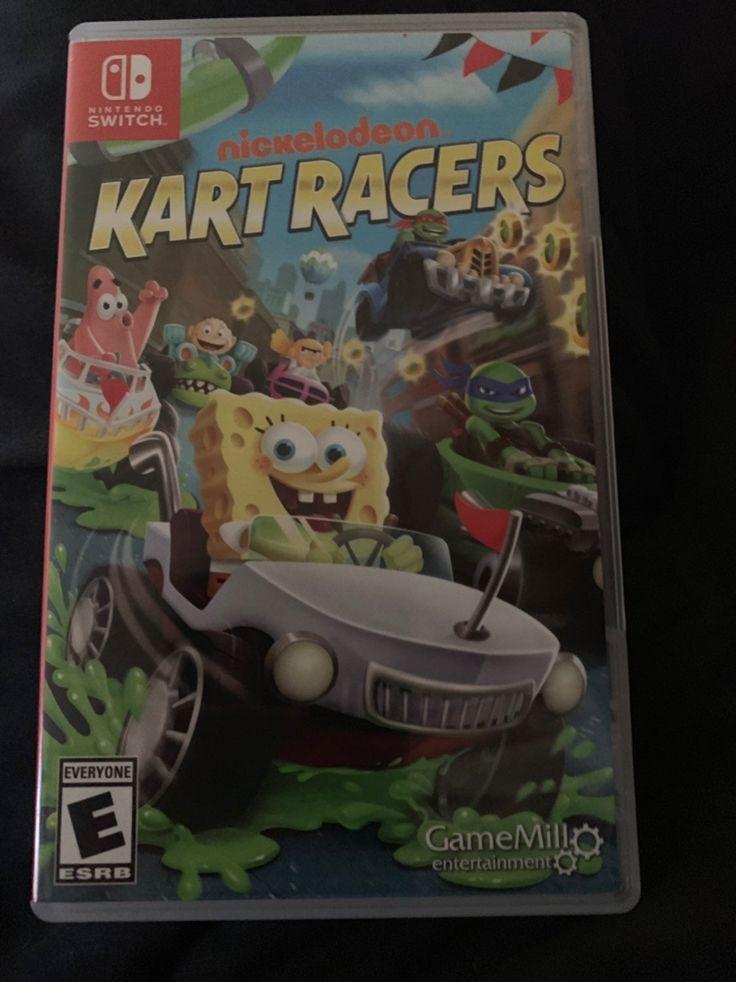 Nickelodeon kart racers nintendo switch in great condition