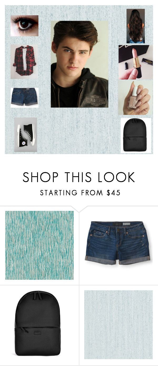 """""""Meeting Mike Montgomery"""" by teenglader on Polyvore featuring Designers Guild, Aéropostale, Converse, Rains, Essie and Zoffany"""