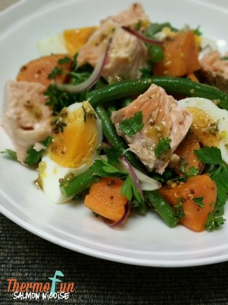 Week 45 - Salmon Nicoise. Join Today! and have access to these past recipes.
