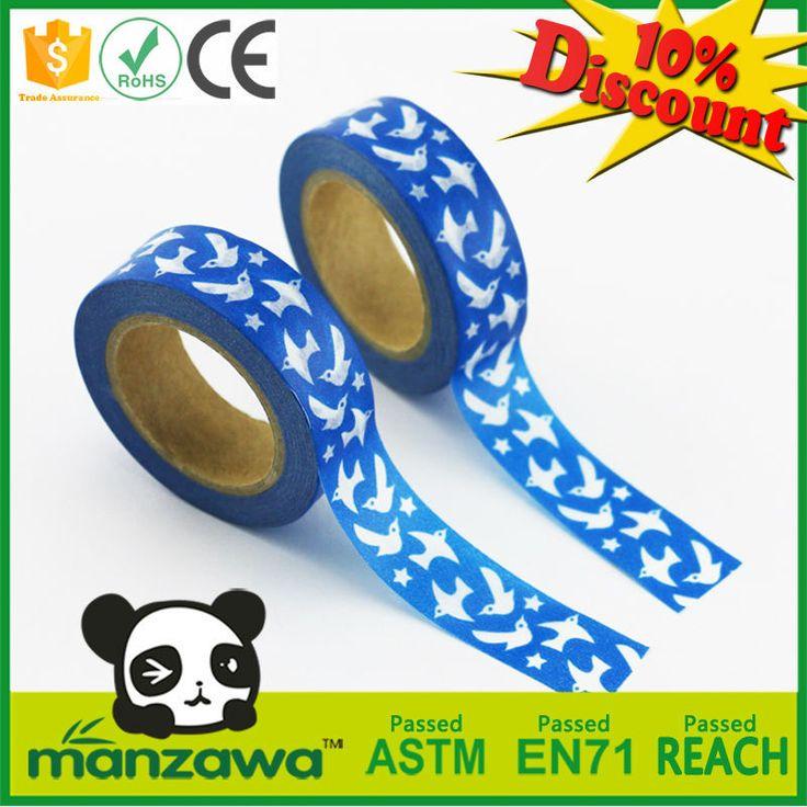 Decorative Japanese custom printed washi tape wholesale