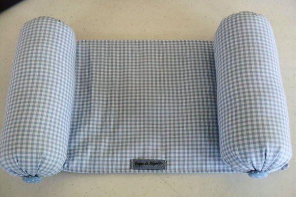 Rolinho segura bebe em tecido 100% algodão. Poderá ser confeccionado na cor e estampa que desejar. R$ 26,90