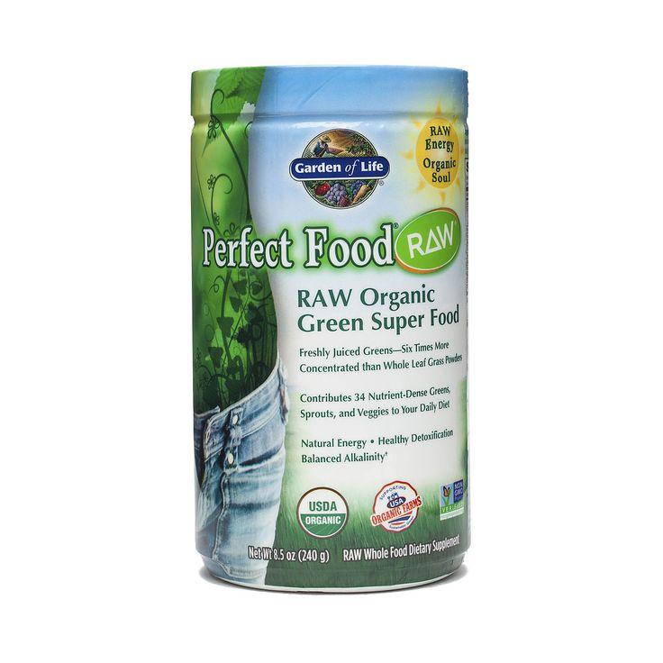 240 g Perfect Food® RAW Organic Greens Powder - Thrive Market